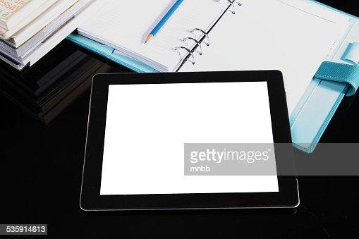tablet pc de mesa : Foto de stock