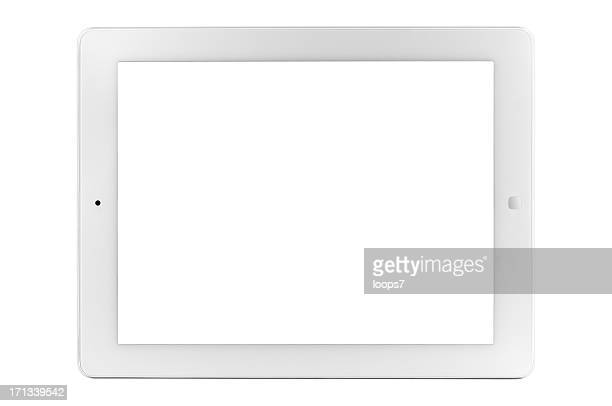 Tablet PC with clipping paths