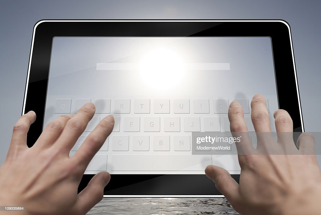 tablet PC_01 : Stock Photo
