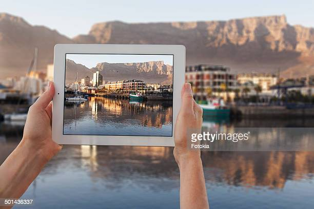 Tablet Photo of Table Mountain