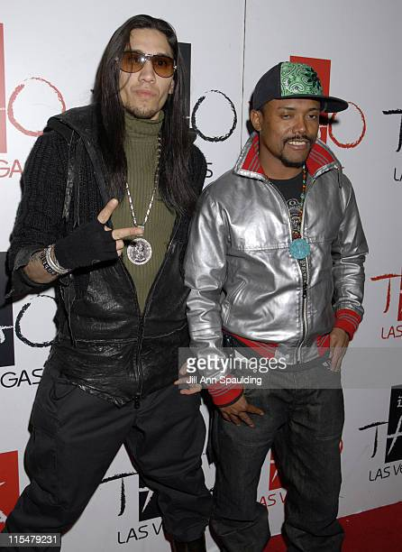 Taboo and Apldeap during The Black Eyed Peas Concert After Party at TAO Nightclub at The Venetian Hotel and Casino Resort at Tao in Las Vegas NV...