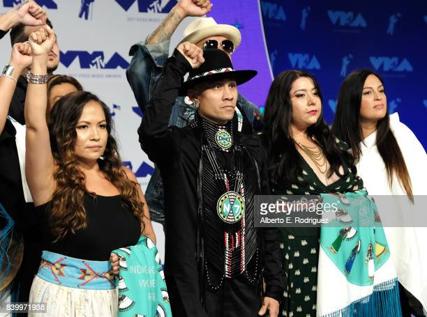 Taboo of the Black Eyed Peas attends the 2017 MTV Video Music Awards at The Forum on August 27 2017 in Inglewood California
