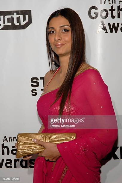 Tabu attends The 17th Annual GOTHAM AWARDS at Steiner Studios on November 27 2007 in New York City