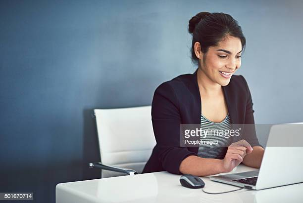 Tackling her work with a can-do attitude