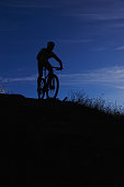 Tackling the trails at night