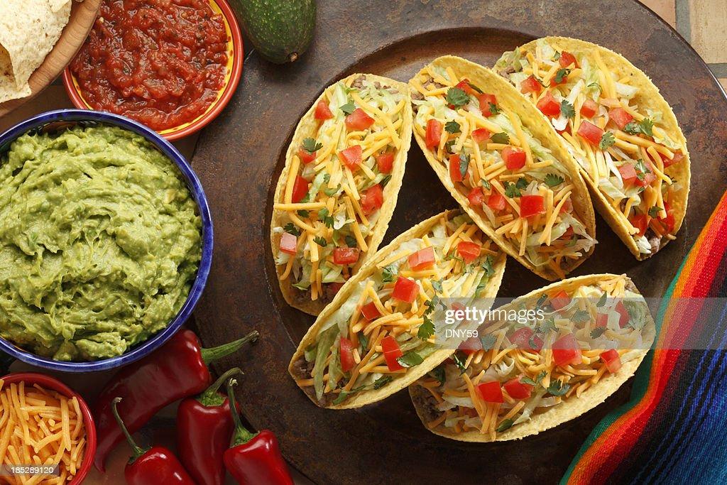Tacos : Stock Photo