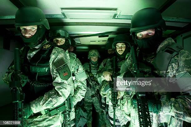 SWAT tactique unité