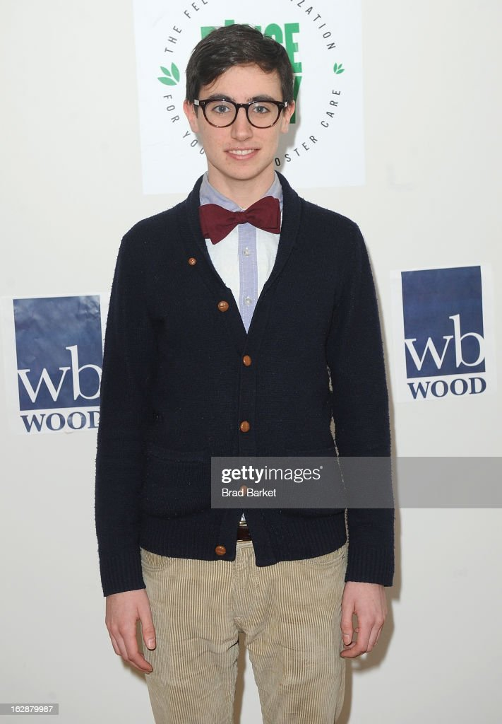 Tad D'Agostino attends 'Dance This Way' Benefit Dance-A-Thon kick off party at WB Wood on February 28, 2013 in New York City.