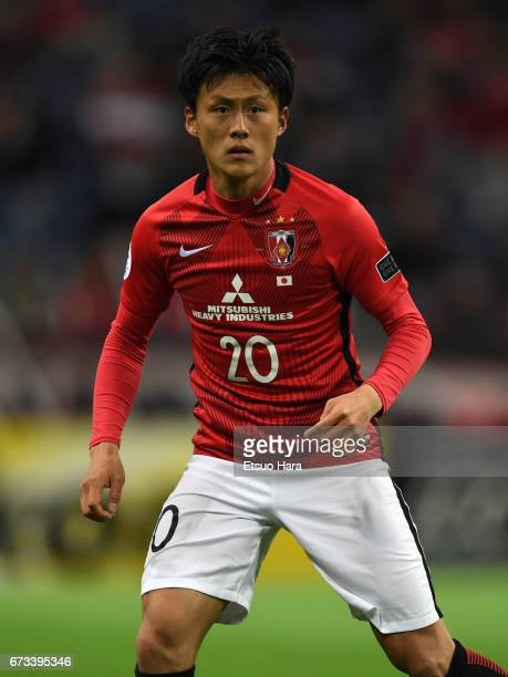 Tadanari Lee of Urawa Red Diamonds in action during the AFC Champions League Group F match between Urawa Red Diamonds and Western Sydney at Saitama...