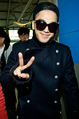 Taeyang of South Korean boy band Big Bang is seen at Incheon International Airport on November 28 2012 in Incheon South Korea