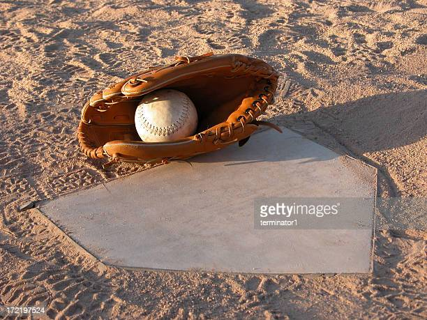 Tag at Home Plate