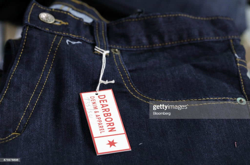 Inside The Dearborn Denim Manufacturing Facility As Wholesale Inventories Rose