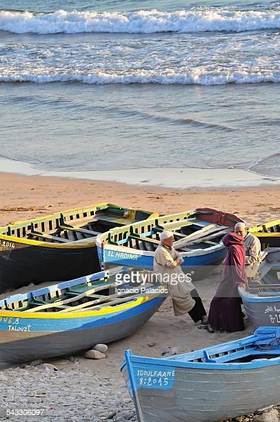 Taghazout fishermen