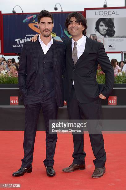 Tahar Rahim and Fatih Akin attend 'The Cut' premiere during the 71st Venice Film Festival on August 31 2014 in Venice Italy