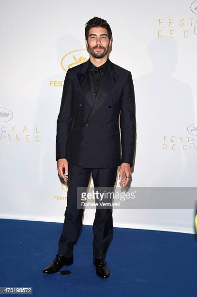 Tahar Rahim attends the opening ceremony dinner during the 68th annual Cannes Film Festival on May 13 2015 in Cannes France