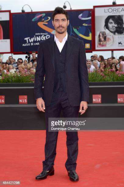 Tahar Rahim attends the 'The Cut' premiere during the 71st Venice Film Festival on August 31 2014 in Venice Italy