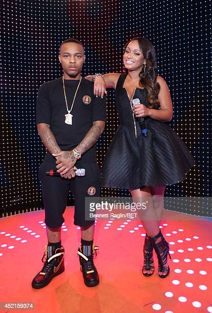 Tahiry and Bow Wow host 106 Park at Bet studio on July 14 2014 in New York City