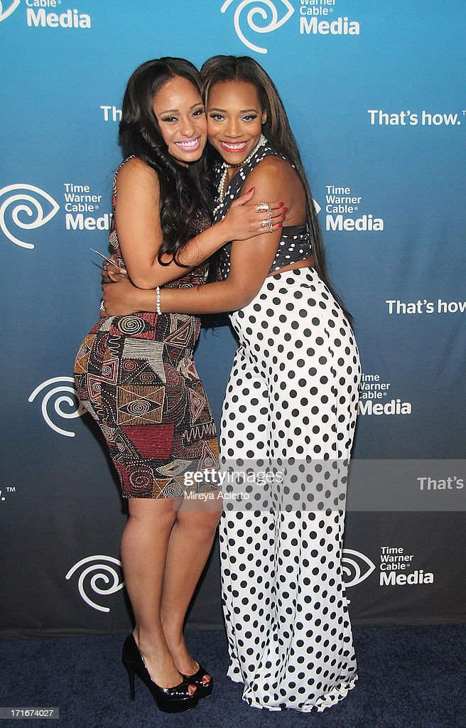<a gi-track='captionPersonalityLinkClicked' href=/galleries/search?phrase=Tahiry&family=editorial&specificpeople=6490872 ng-click='$event.stopPropagation()'>Tahiry</a> Jose and Yandy Smith the Time Warner Cable 'View From The Top' Media Upfront at Frederick P. Rose Hall, Jazz at Lincoln Center on June 27, 2013 in New York City.