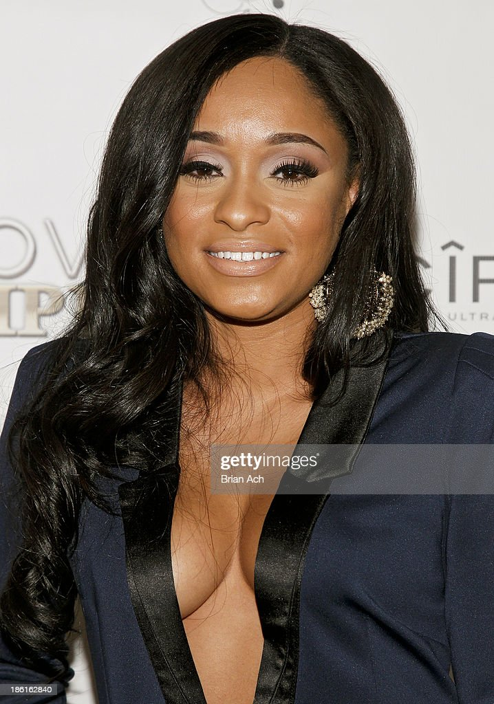 <a gi-track='captionPersonalityLinkClicked' href=/galleries/search?phrase=Tahiry&family=editorial&specificpeople=6490872 ng-click='$event.stopPropagation()'>Tahiry</a> Jose appears at the VH1 'Love & Hip Hop' Season 4 Premiere at Stage 48 on October 28, 2013 in New York City.