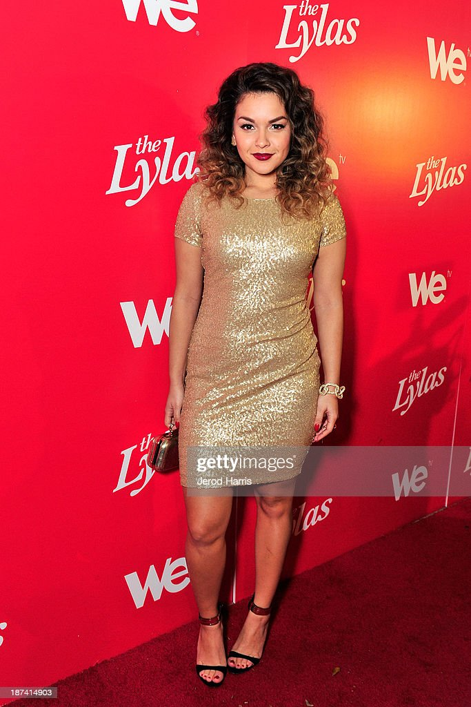 Tahiti Hernandez of the Lylas is seen at WE tv's Celebration for The Premiere Of It's Newest Series 'The LYLAS' at the Warwick on November 7, 2013 in Hollywood, California.