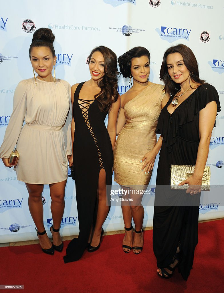 Tahiti Hernandez, Presley Hernandez, Tiara Hernandez and Jaime Kailani of The Lylas attend the CARRY Foundation's 7th Annual 'Shall We Dance' Gala at The Beverly Hilton Hotel on May 11, 2013 in Beverly Hills, California.