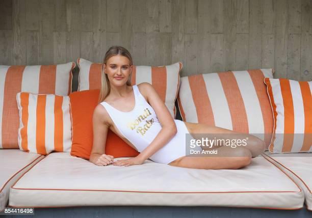Tahlia Morris attends the Bondi Sands SPF Suncare Launch at The Ivy on September 27 2017 in Sydney Australia