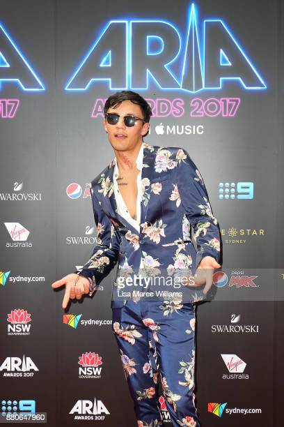 Tai arrives for the 31st Annual ARIA Awards 2017 at The Star on November 28 2017 in Sydney Australia