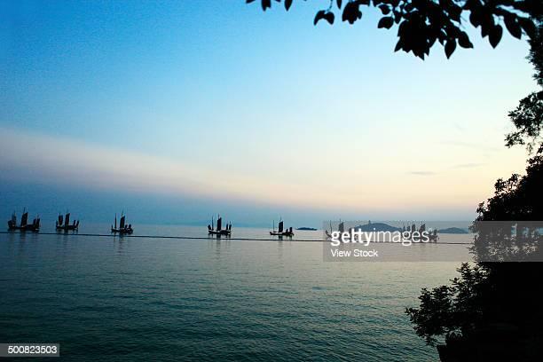 Tai Lake,Wuxi,Jiangsu,China