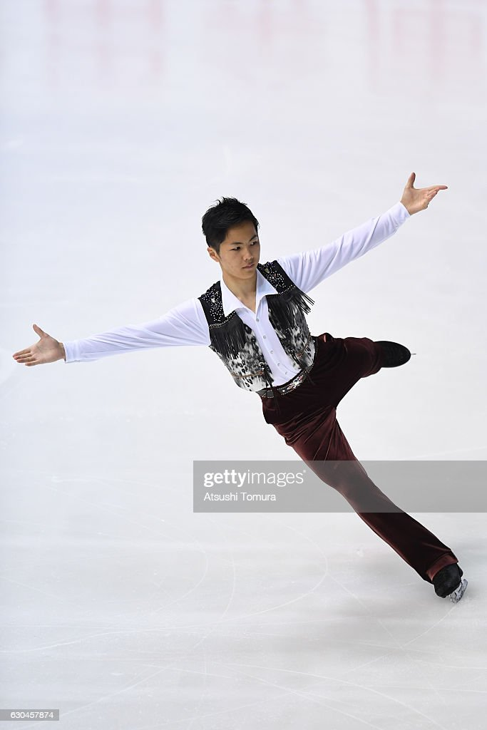Taichi Honda of Japan competes in the Men short program during the Japan Figure Skating Championships 2016 on December 23, 2016 in Kadoma, Japan.