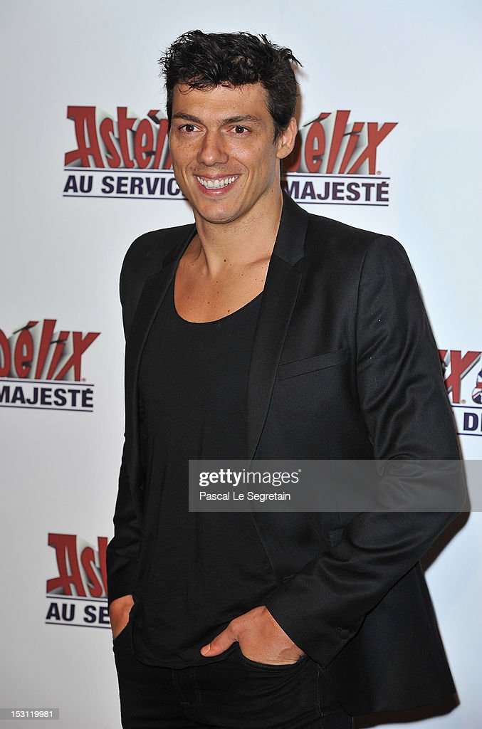 Au Service De Sa Majeste' premiere at Le Grand Rex on September 30, 2012 in Paris, France.