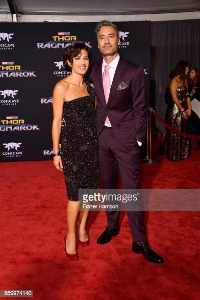Taika Waititi attends the premiere of Disney and Marvel's 'Thor Ragnarok' on October 10 2017 in Los Angeles California