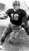 Tailback Frank Gifford of the University of Southern California