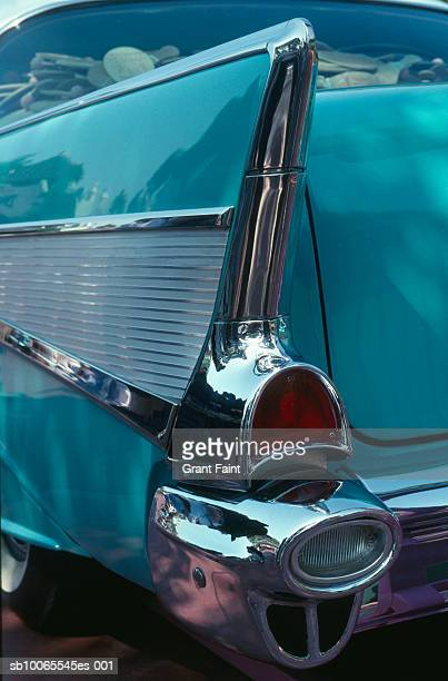 Tailend fin of 1957 Chevy