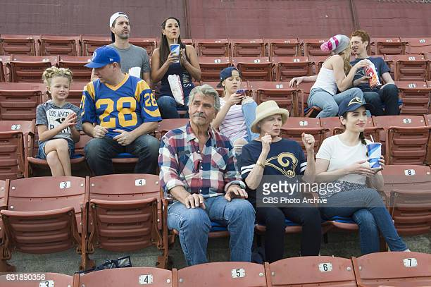 'Tailgate Spiral Souvenir Seating' When Colleen and Matt host the family tailgate party at the LA Rams game they invite former NFL quarterback Kurt...