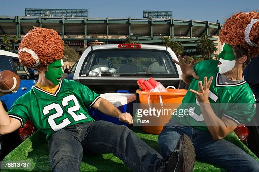Tailgating Football Superfans