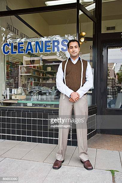 Tailor and dry cleaners shop