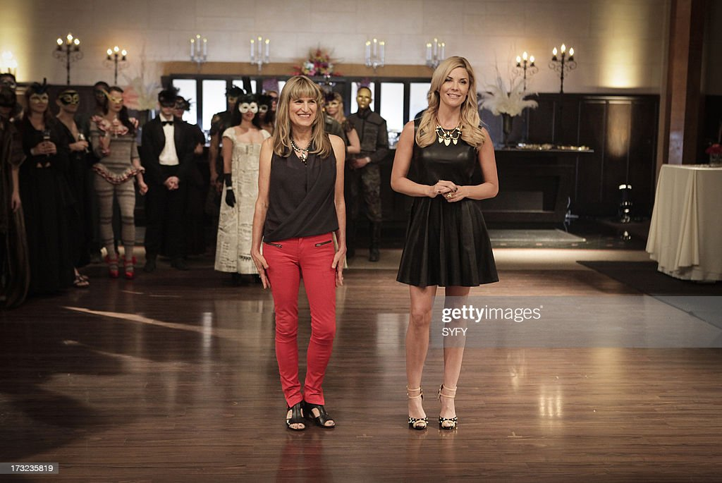 OFF -- 'Tailor Made' Episode 501 -- Pictured: (l-r) Catherine Hardwicke, McKenzie Westmore --