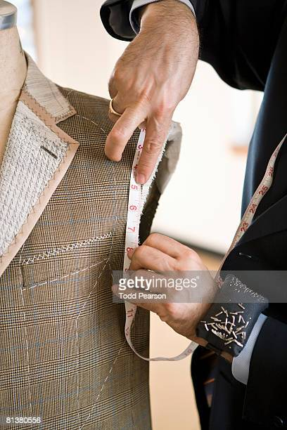 Tailor measure jacket armhole