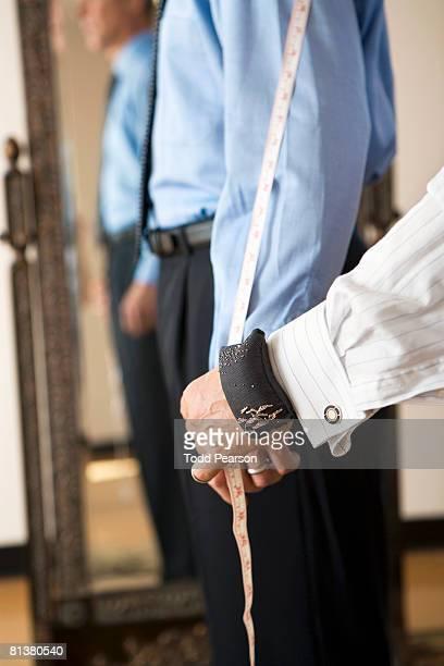 Tailor measures sleeve length