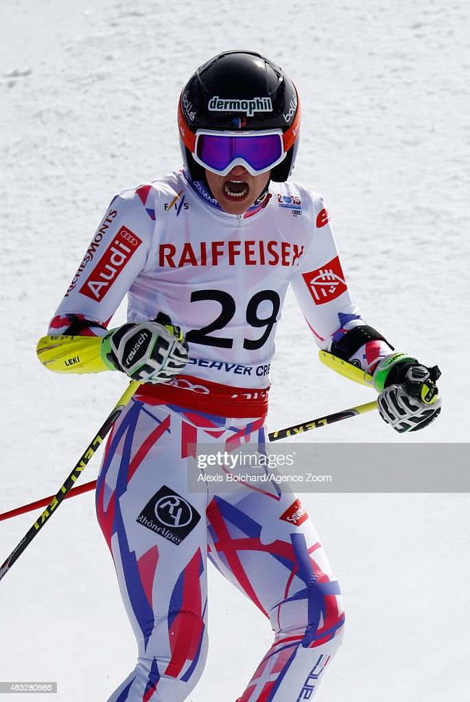 <a gi-track='captionPersonalityLinkClicked' href=/galleries/search?phrase=Taina+Barioz&family=editorial&specificpeople=5589542 ng-click='$event.stopPropagation()'>Taina Barioz</a> of France competes during the FIS Alpine World Ski Championships Women's Giant Slalom on February 12, 2015 in Beaver Creek, Colorado.