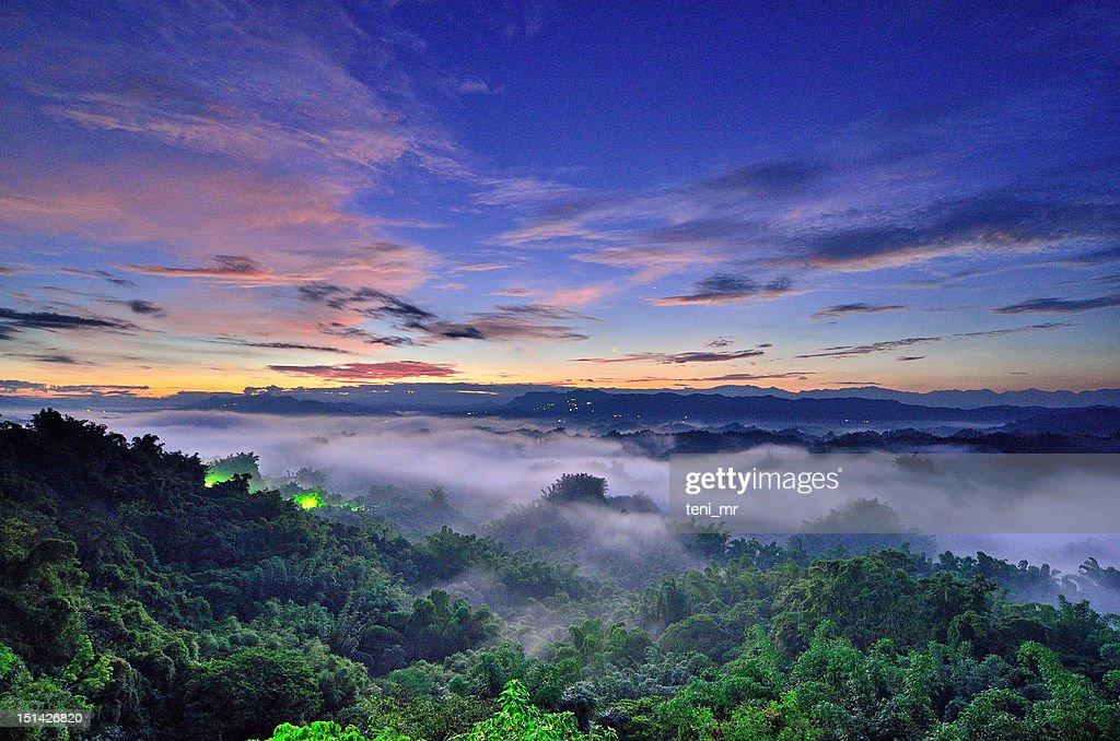Tainan sunrise : Stock Photo