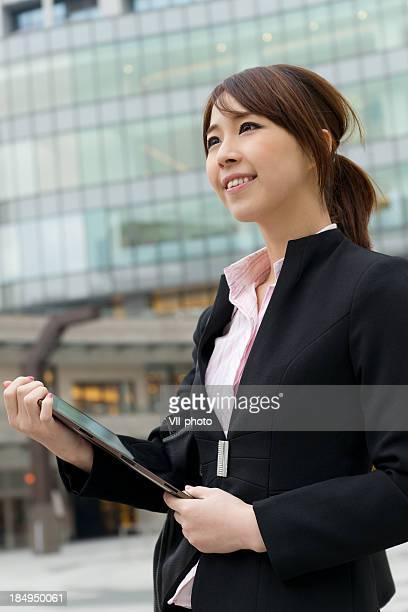 台北のビジネス女性