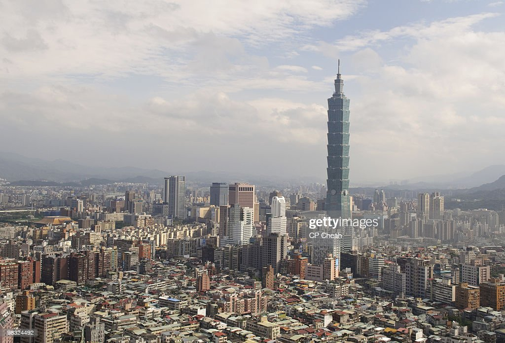 Taipei City Skyline