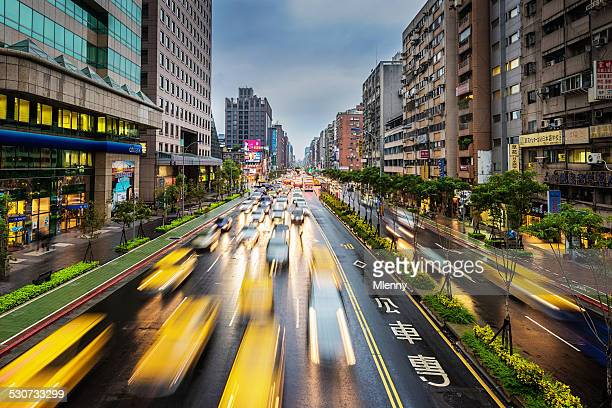 Taipei Taxis, City Traffic Taiwan