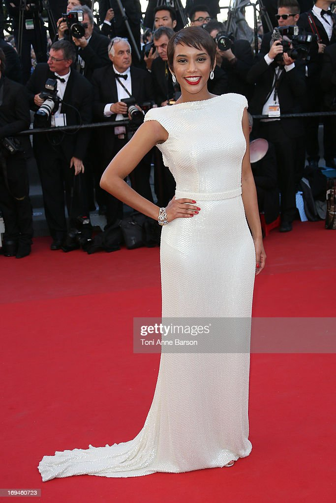 Tais Araujo attends the premiere of 'The Immigrant' at The 66th Annual Cannes Film Festival on May 24, 2013 in Cannes, France.
