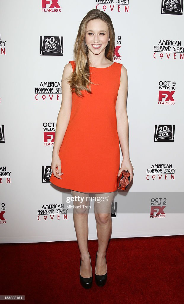 "Premiere Of FX's ""American Horror Story: Coven"""