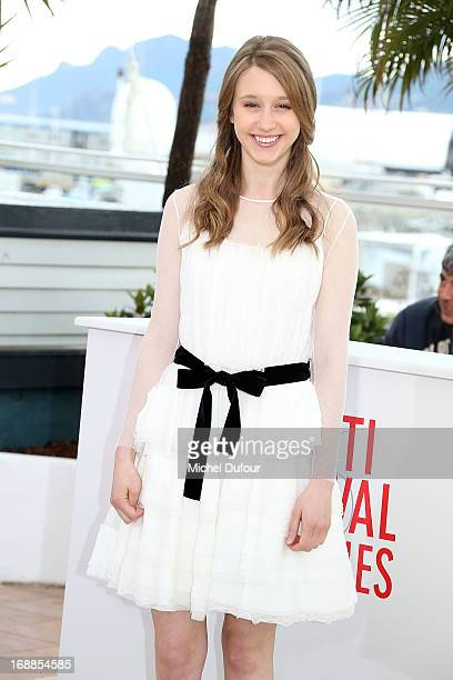 Taissa Farmiga attends 'The Bling Ring' photocall during the 66th Annual Cannes Film Festival at Palais des Festival on May 16 2013 in Cannes France
