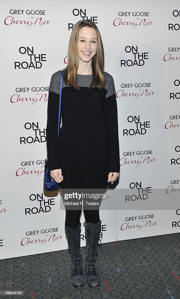 Taissa Farmiga attends the 'On The Road' premiere at SVA Theater on December 13, 2012 in New York City.