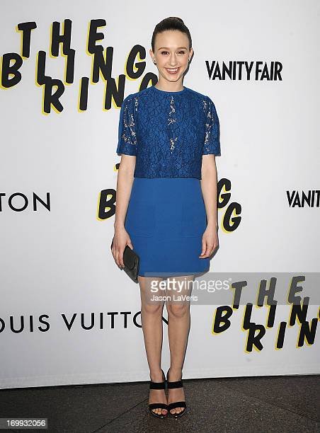 Taissa Farmiga attends the premiere of 'The Bling Ring' at Directors Guild Of America on June 4 2013 in Los Angeles California