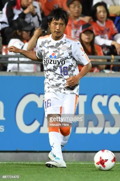 Taisuke Muramatsu of Shimizu SPulse in action during the JLeague Levain Cup Group A match between Omiya Ardija and Shimizu SPulse at NACK 5 Stadium...